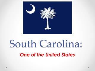 South Carolina:
