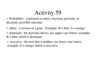 Activity 59