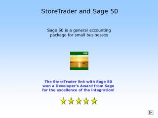StoreTrader and Sage 50