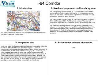 I-64 Corridor