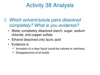 Activity 38 Analysis