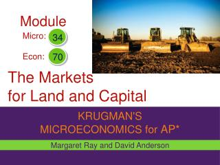 The Markets  for Land and Capital