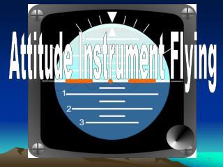 Attitude Instrument Flying