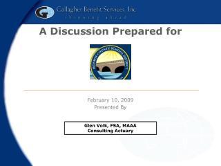 A Discussion Prepared for