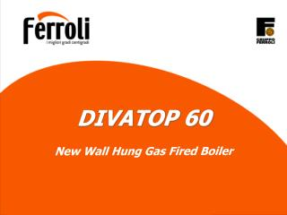 DIVATOP 60 New Wall Hung Gas Fired Boiler