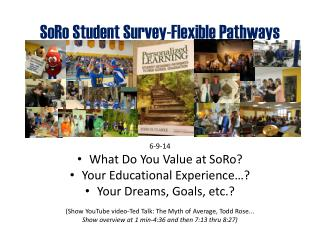 SoRo  Student Survey-Flexible Pathways
