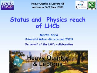 Status and  Physics reach of LHCb