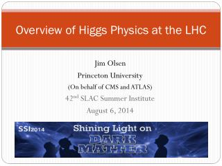 Overview of Higgs Physics at the LHC