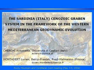 Sard. : Event visible in Sardinia
