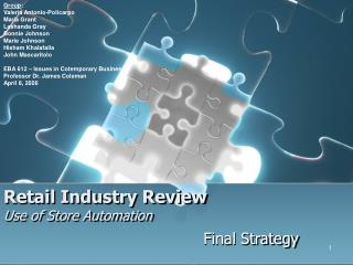Retail Industry Review