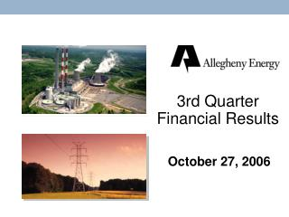 3rd Quarter Financial Results