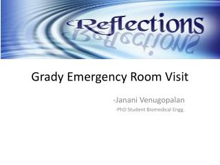 Grady  Emergency Room  Visit