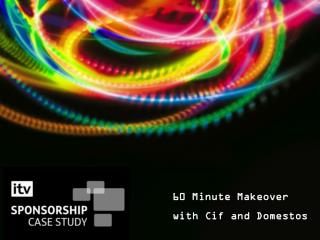 60 Minute Makeover with Cif and Domestos