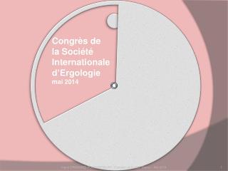 Congrès de la Société Internationale d'Ergologie mai 2014