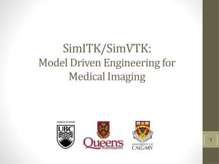SimITK / SimVTK :  Model Driven Engineering for Medical Imaging