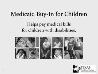 Medicaid Buy-In for Children