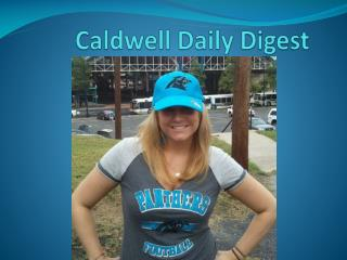 Caldwell Daily Digest