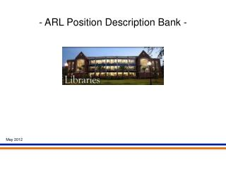 - ARL Position Description Bank -