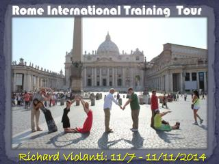 Rome International Training  Tour
