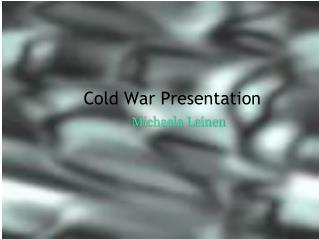 Cold War Presentation