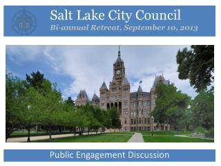 Salt Lake City Council Bi-annual Retreat, September 10, 2013