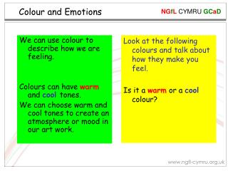 Colour and Emotions