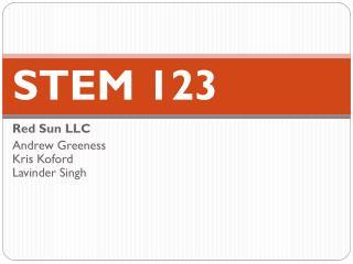 STEM 123