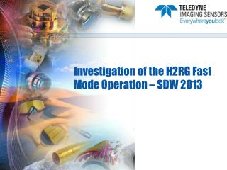 Investigation of the H2RG Fast Mode Operation – SDW 2013