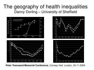 The geography of health inequalities Danny Dorling   University of Sheffield