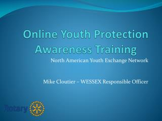 Online Youth Protection Awareness Training