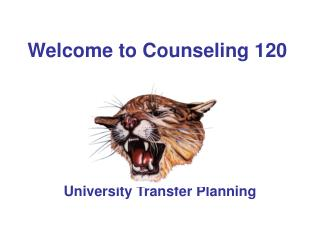 Welcome to Counseling 120