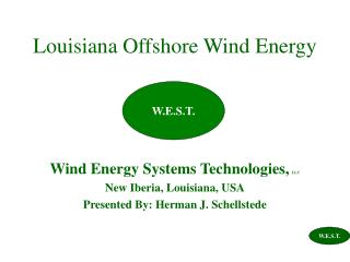 Louisiana Offshore Wind Energy