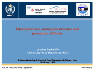 WMO; Climate and Water Department