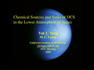 Chemical Sources and Sinks of OCS in the Lower Atmosphere of Venus
