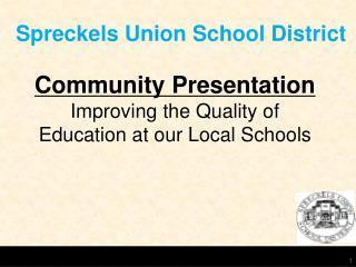 Spreckels Union School District