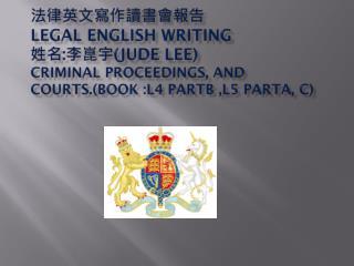 Criminal Courts(1)
