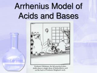 Arrhenius Model of Acids and Bases