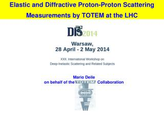 Elastic and Diffractive Proton-Proton Scattering Measurements by TOTEM at the LHC