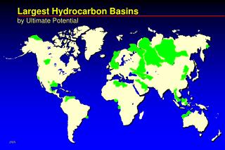Largest Hydrocarbon Basins by Ultimate Potential