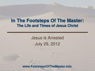 In The Footsteps Of The Master: The Life and Times of Jesus Christ
