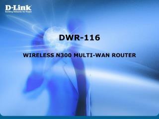 DWR-116