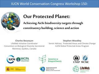 IUCN World Conservation Congress Workshop 150: