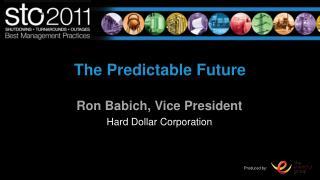 The Predictable Future