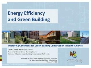 Improving Conditions for Green Building Construction in North America