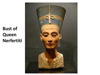 Bust of Queen  Nerfertiti