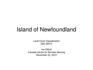 Island of Newfoundland