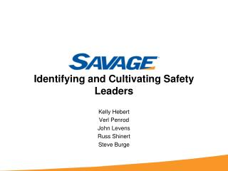 Identifying and Cultivating Safety Leaders