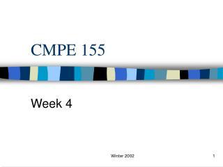 CMPE 155