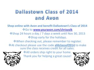 Dallastown Class of 2014 and Avon