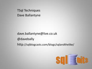 Dave  Ballantyne